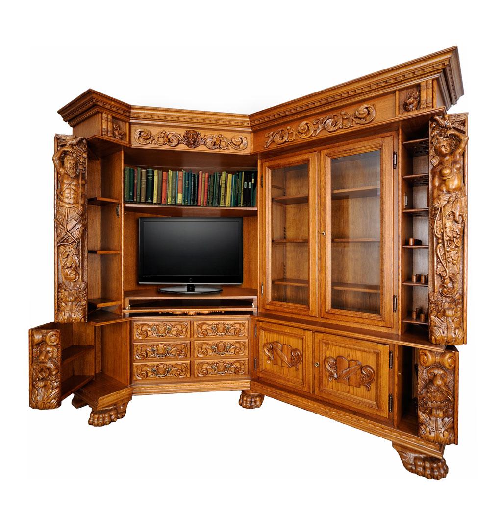 Book  /TV Cabinet