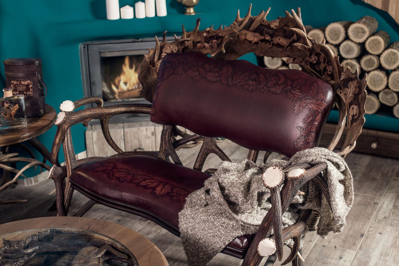 Luxus Sofa für zwei Personen